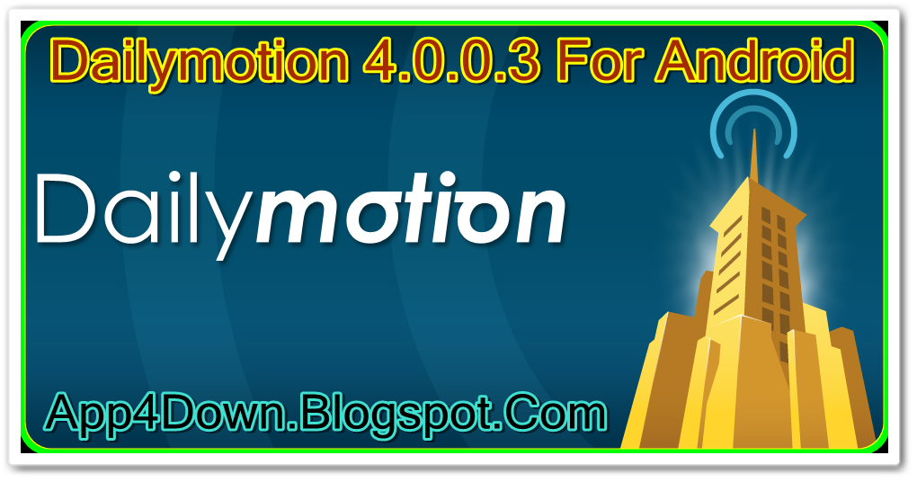 Dailymotion App Free Download