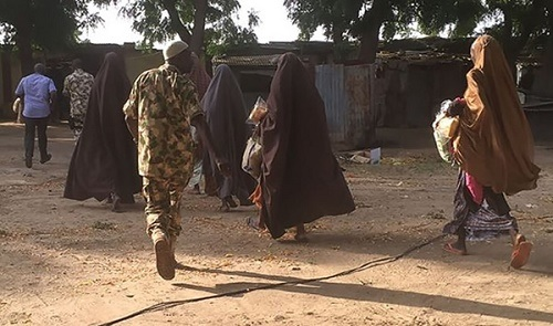 See Photos of some of the 21 Girls Freed from Boko Haram