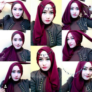 Model Hijab Pesta Pernikahan