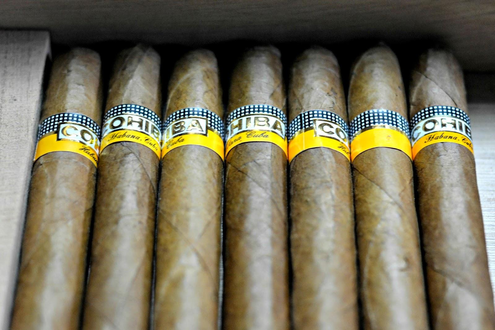 Cohiba Cigars in Havana Cuba