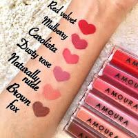 Warna-warna Amoura Lipstick