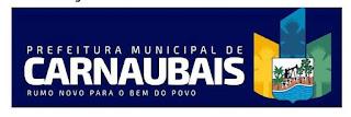 Resultado de imagem para logomarca da prefeitura de carnaubais