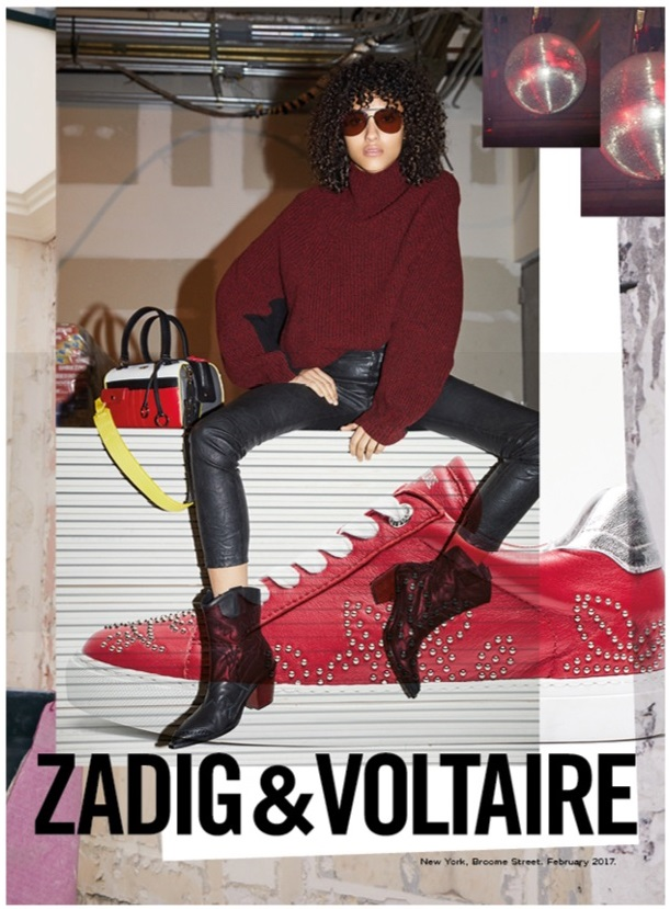 Zadig & Voltaire fall-winter 2017 campaign