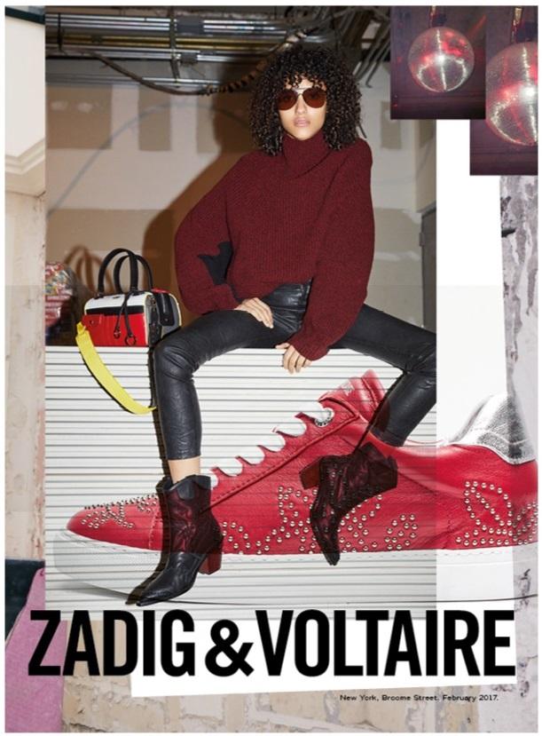 Zadig & Voltaire fall-winter 2017 campaign