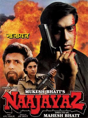 Naajayaz 1995 Hindi 720p WEBRip 1.1Gb x264