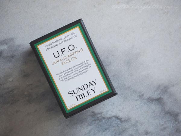 Sunday Riley U.F.O Ultra-Clarifying Face Oil.