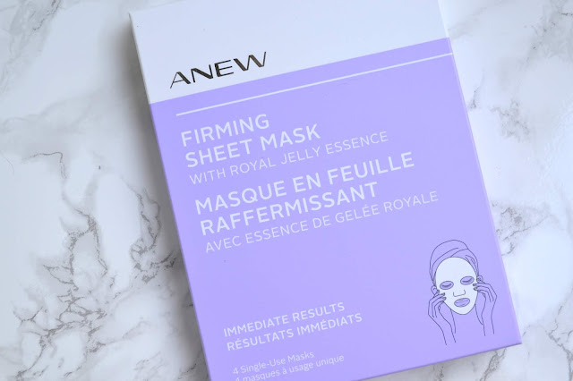 Avon Anew Firming Sheet Mask Review
