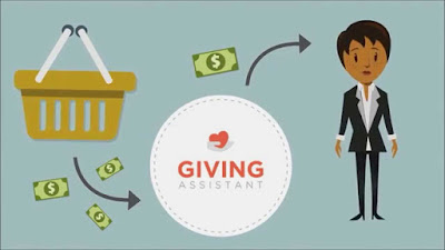 Giving Assistant - Gana dinero con tus compras