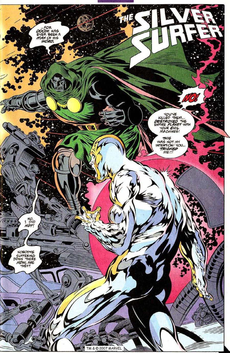 Read online Silver Surfer (1987) comic -  Issue #107 - 5