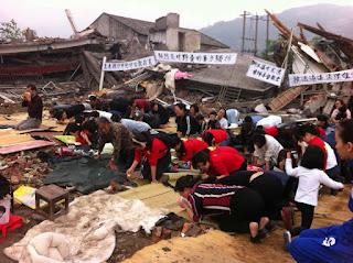 Henan officials destroy under-construction church, detain 40 Christians