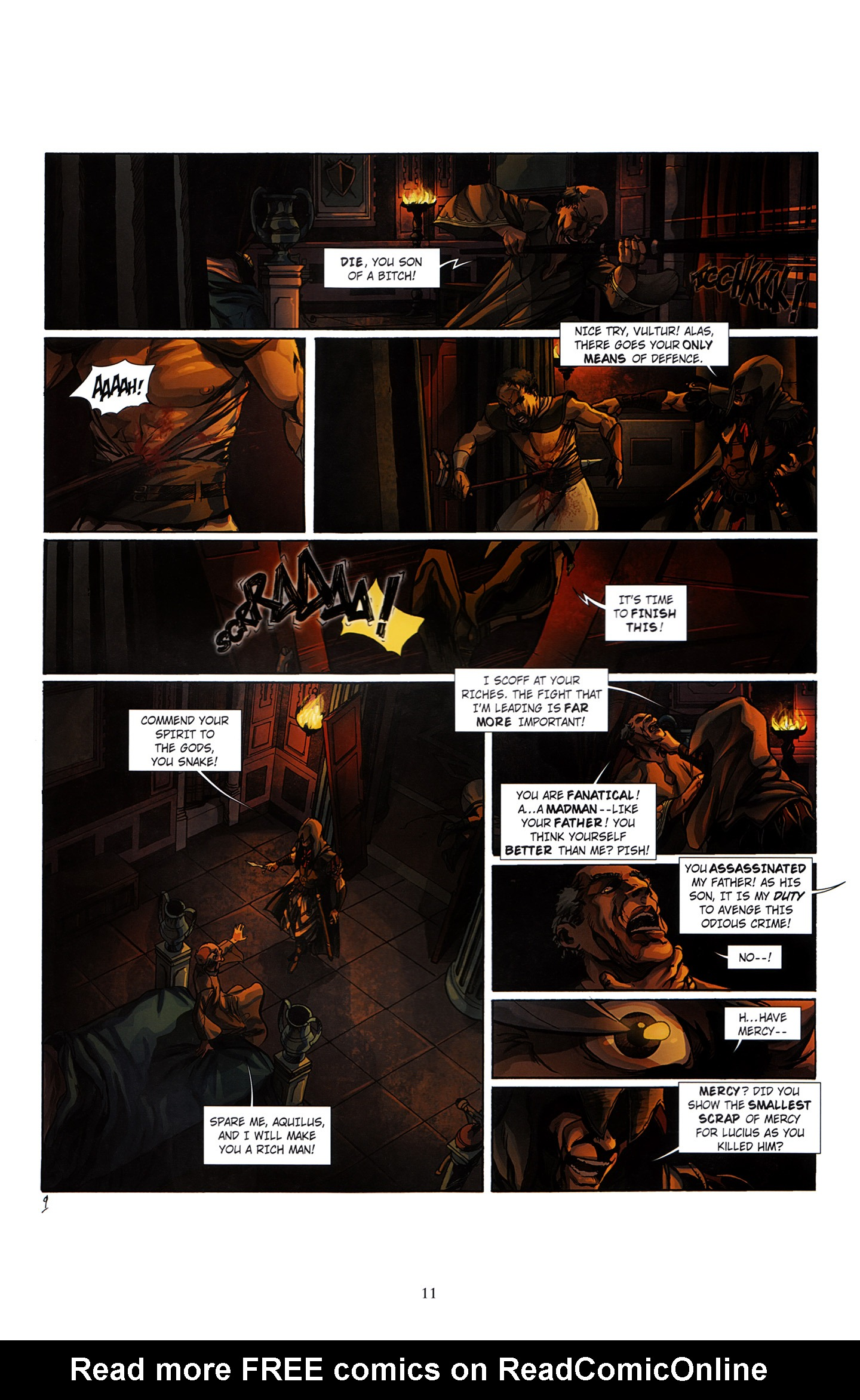 Read online Assassin's Creed (2012) comic -  Issue #3 - 15