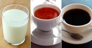 Susu teh kopi - Tips Cara Mengatasi & Menghilangkan Rasa Pedas Di Mulut