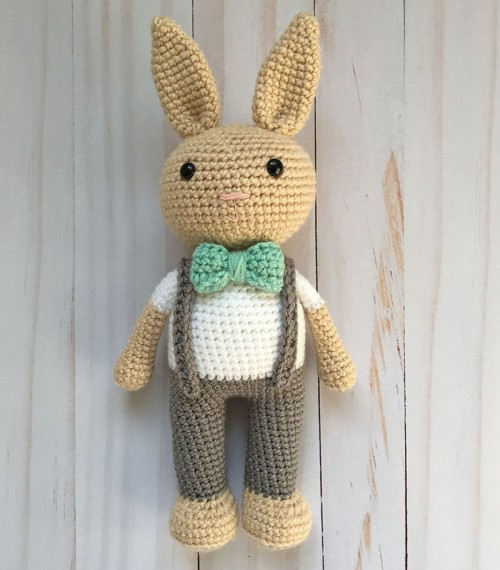 Berry Patch Bunny Boy Version - Free Amigurumi Pattern