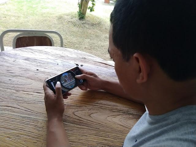 Smartphone Gaming Zenfone Max Pro M2 1