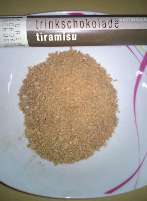 Trinkschokolade Tiramisu