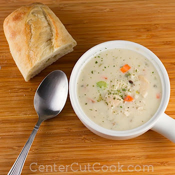 Ten Amazing Recipes for Slow Cooker Turkey Soup found on SlowCookerFromScratch.com