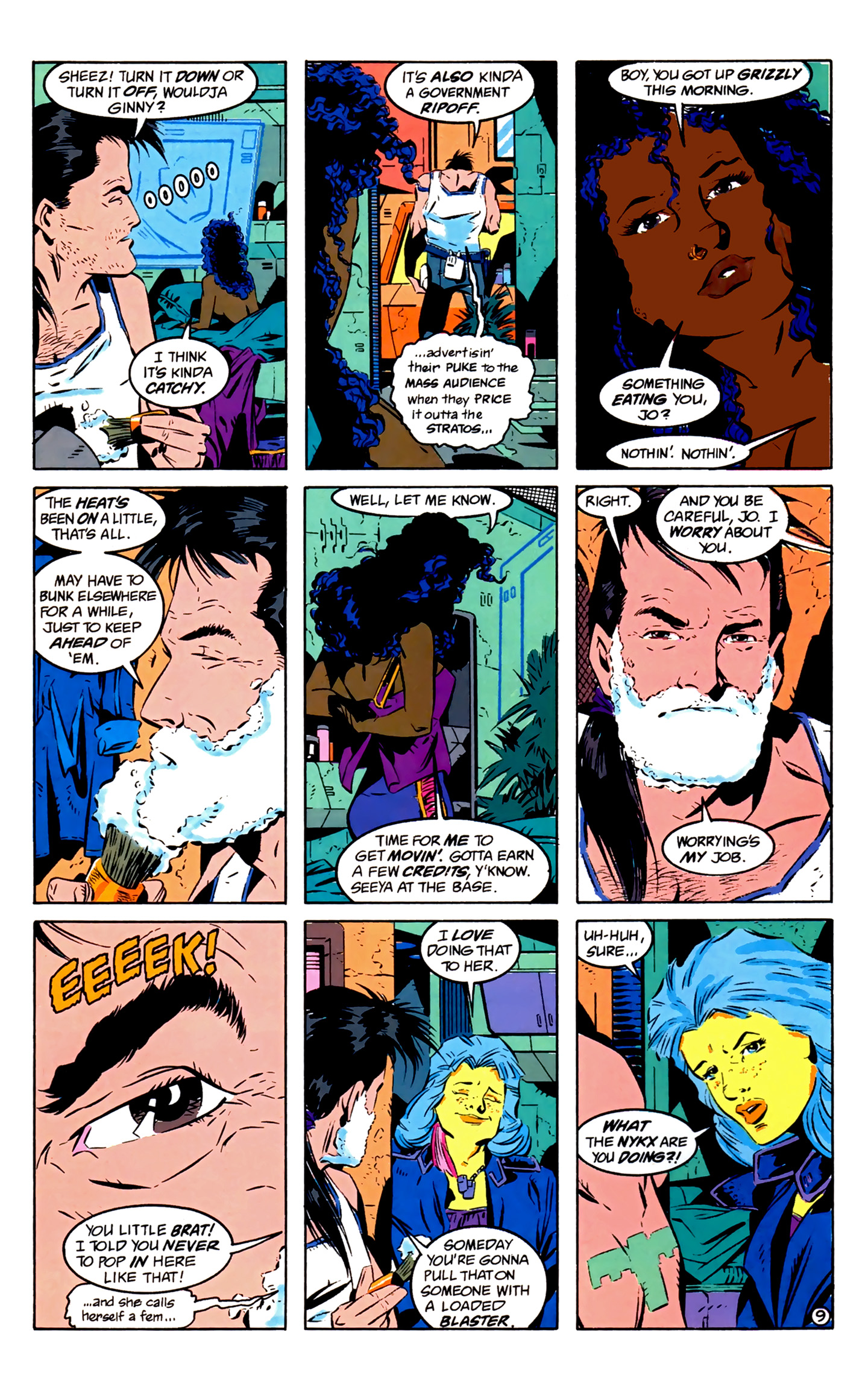 Legion of Super-Heroes (1989) 2 Page 10