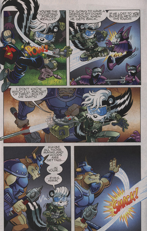 Read online Sonic The Hedgehog comic -  Issue #210 - 20