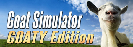 Goat Simulator is all about causing as much destruction as you possibly can as a goat Goat Simulator GOATY Edition-PROPHET