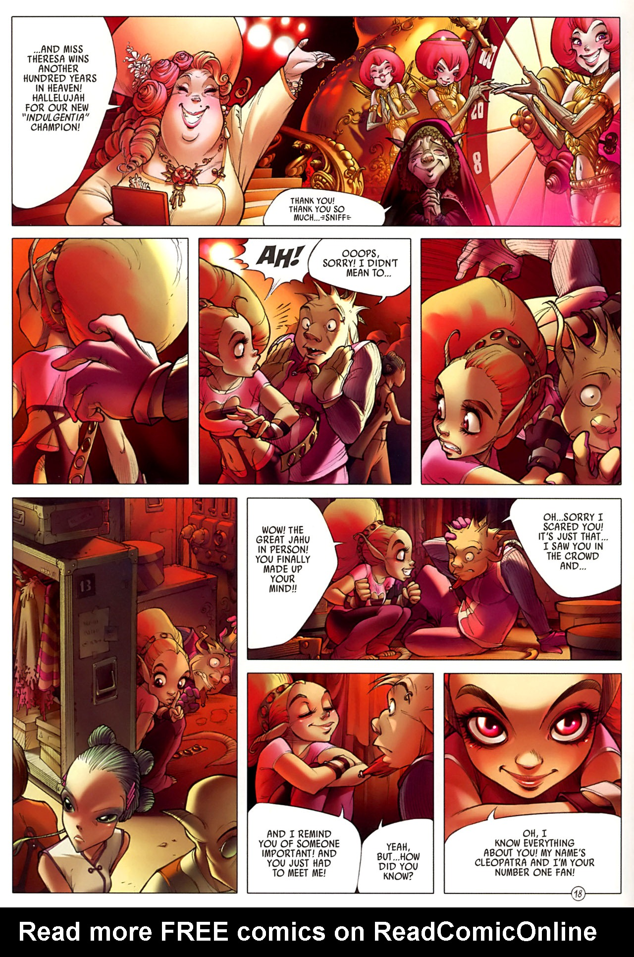 Read online Sky Doll comic -  Issue #3 - 22