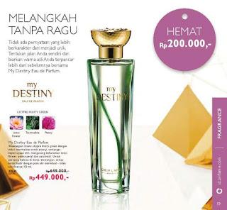 My destiny eau de parfum oriflame 32535