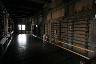 ภายในปราสาทฮิเมจิ (Himeji Castle)