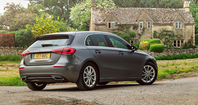 Mercedes A-Class rear quarter view