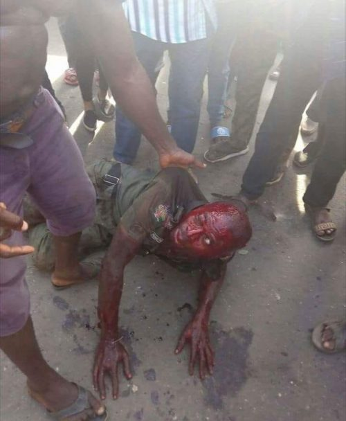 Policeman who shot bamidele