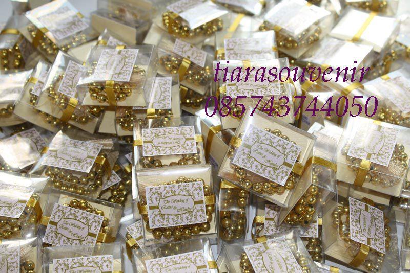 Souvenir Tasbih Silver Gold