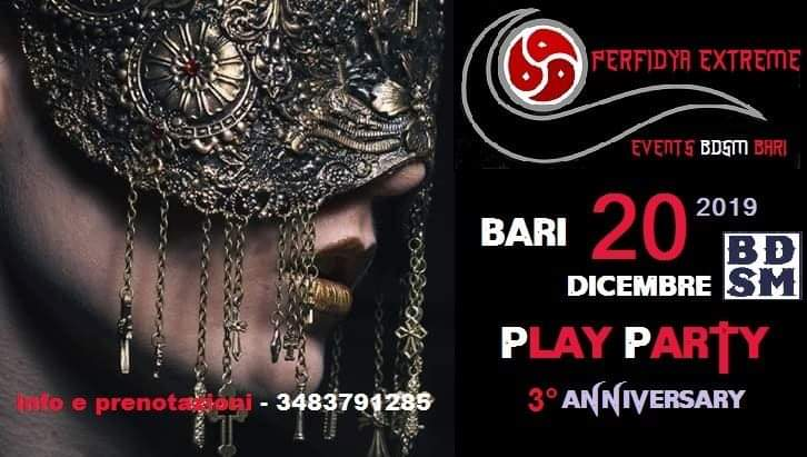 Perfidya Extreme Play-Party 3°Anniversar