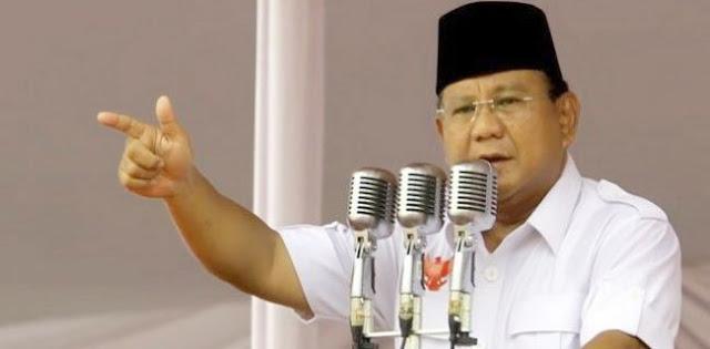 Prabowo Jawab Dorongan Capres Awal April