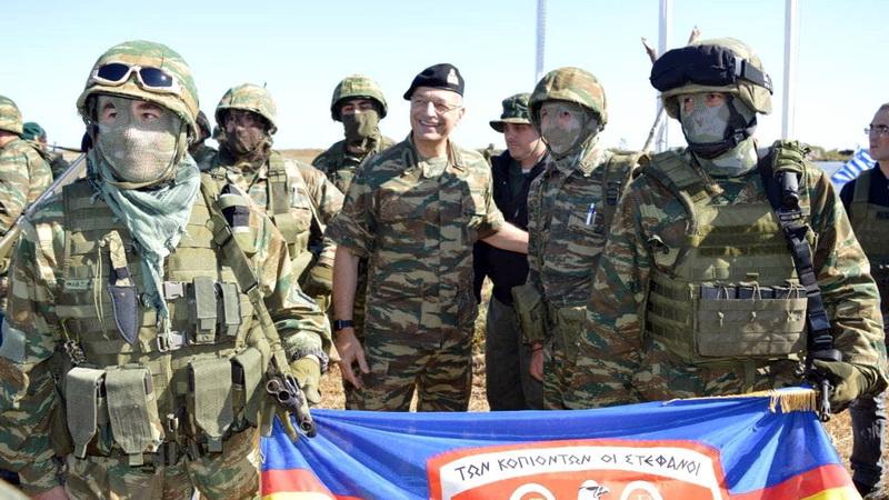 Παρουσία Αρχηγού ΓΕΣ η στρατιωτική άσκηση στις Καλύβες Έβρου