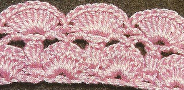 Patrón #1280: Punto Abierto a Crochet