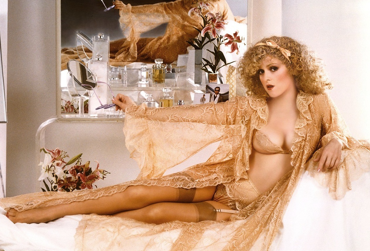 Consider, bernadette peters topless shoulders down