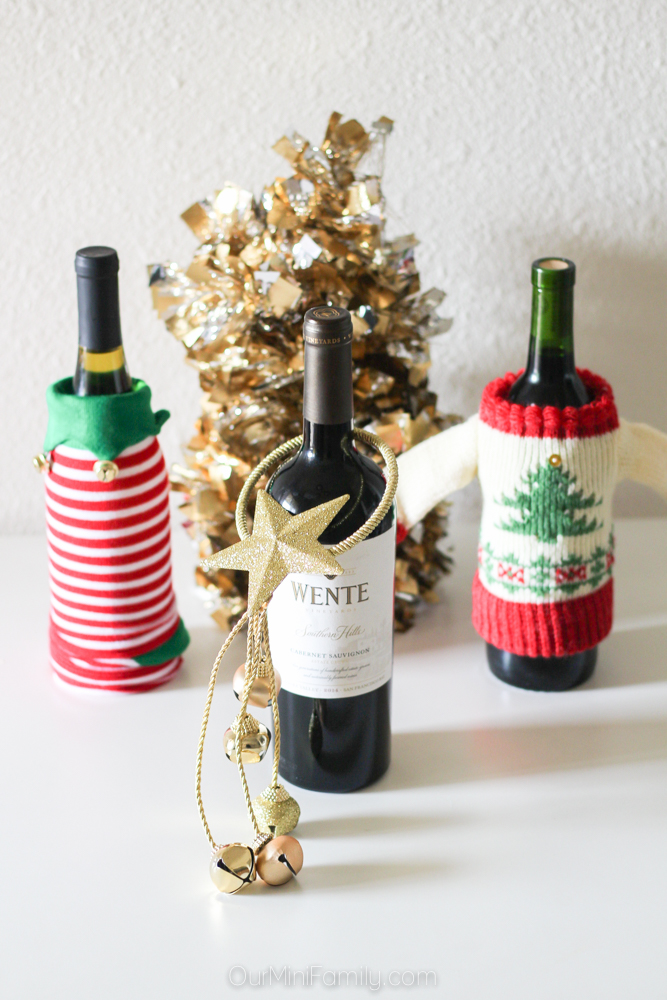 Wine Gift Wrapping Ideas Part - 33: Today, I Am Sharing Four Very Easy Ways To Wrap A Bottle Gift Ideas That Go  Beyond The Traditional Bottle Gift Bag!