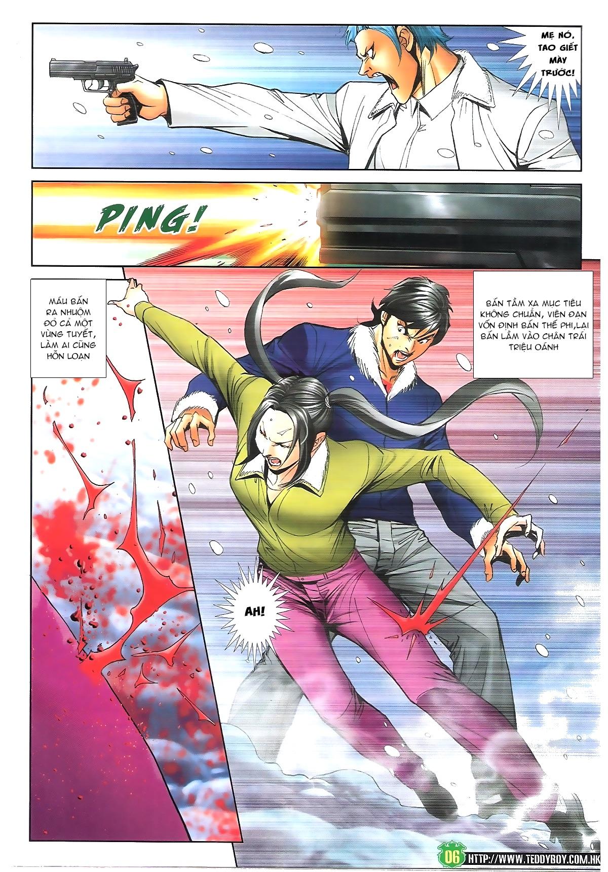 Người Trong Giang Hồ - Chapter 1616: Triệu Kế Bang vs Đinh Dao - Pic 5
