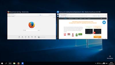 Adanya Fitur Task View Windows 10