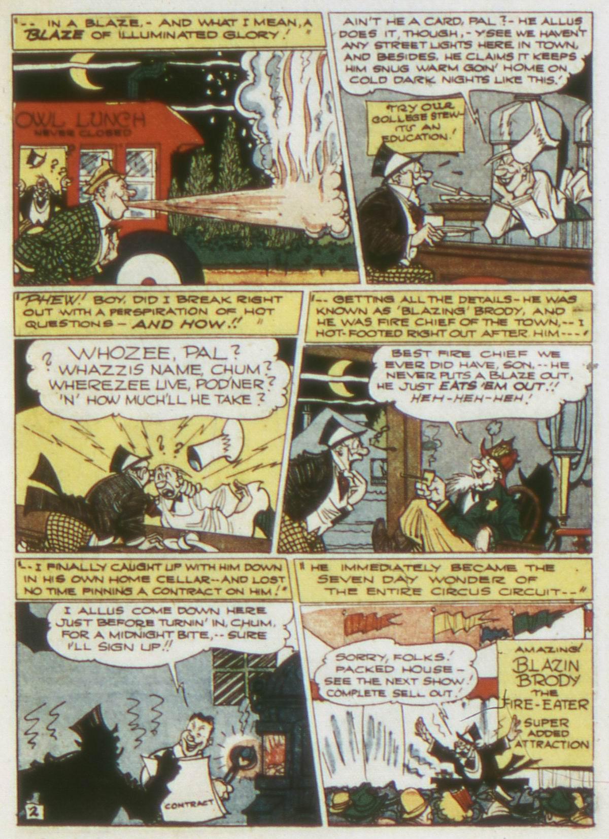Read online Detective Comics (1937) comic -  Issue #87 - 25