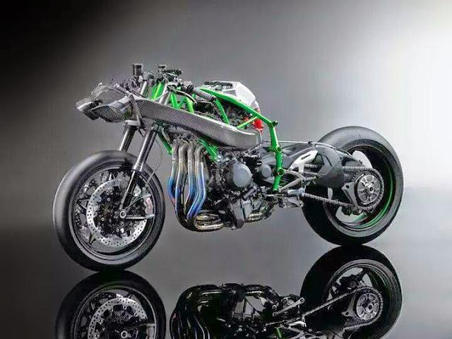 Kawasaki Ninja H2R 300bhp Di Dedahkan
