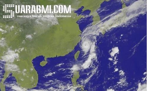 Topan Malakas Telah Pergi Tanpa Meninggalkan Kerusakan, CWB: Waspada Hujan Deras Selama Minggu Ini
