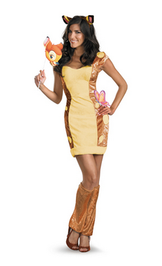 Sexy Disney Halloween costumes to roll your eyes at - Bambi