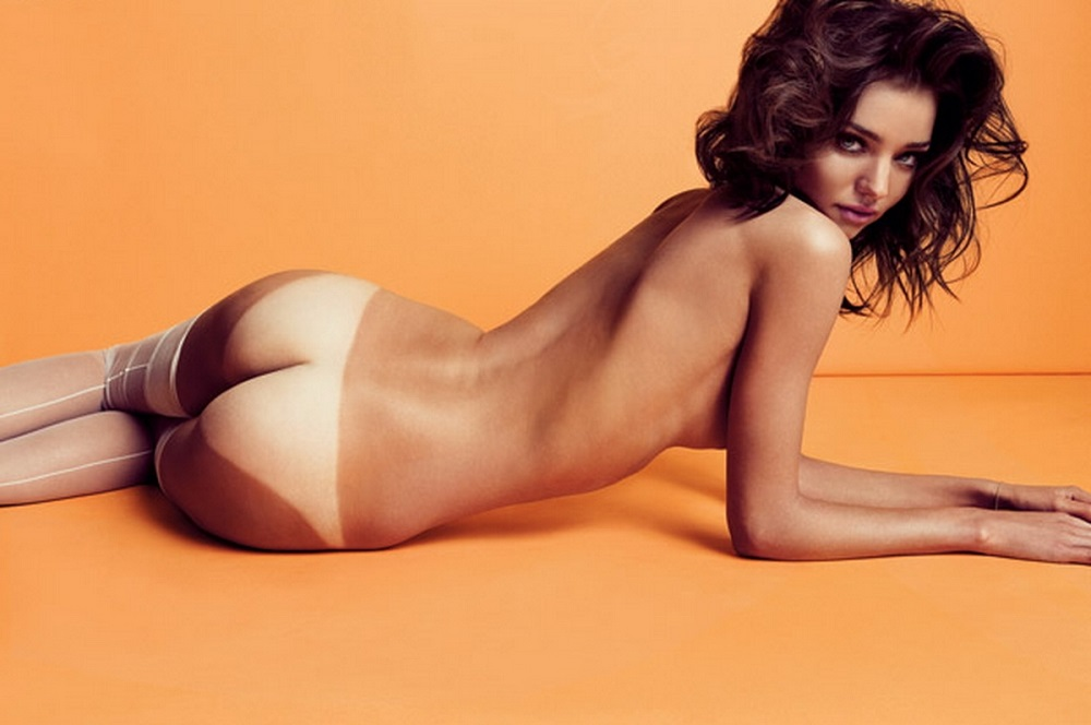 Miranda kerr nude shot too much for aussies
