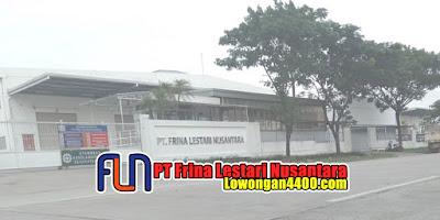 Lowongan Kerja PT Frina Lestari Nusantara GIIC Deltamas Cikarang