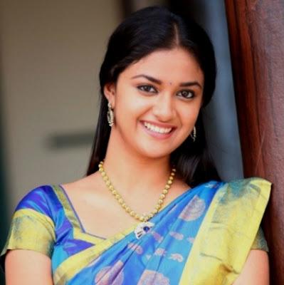 Actress Keerthi Suresh In Pambu Sattai A New Tamil Cinema