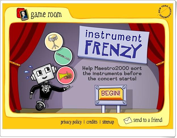 """""""Instrument Frenzy"""" (Instrumentos musicales en Educación Primaria)"""