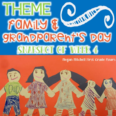 Family & Grandparent's Day - First Grade Roars!