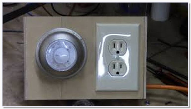 How to make a thermostat controlled outlet