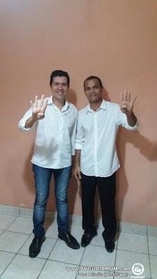 Vídeo: Menezes e  Irmão Jailson oficializam chapa em Goiana Homologação ocorreu na noite desta sexta-feira (5) em evento na cidade