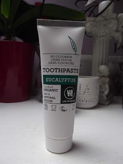 zubná pasta eukalyptus Urtekram