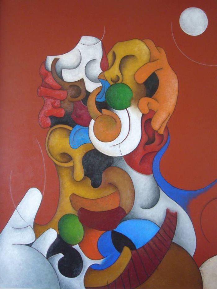 Деформированные лица. Carlos Blanco Artero